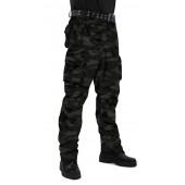 Брюки мужские Gerkon Commando летние, камуфляж т.Твил 210 гр. Чёрная кукла