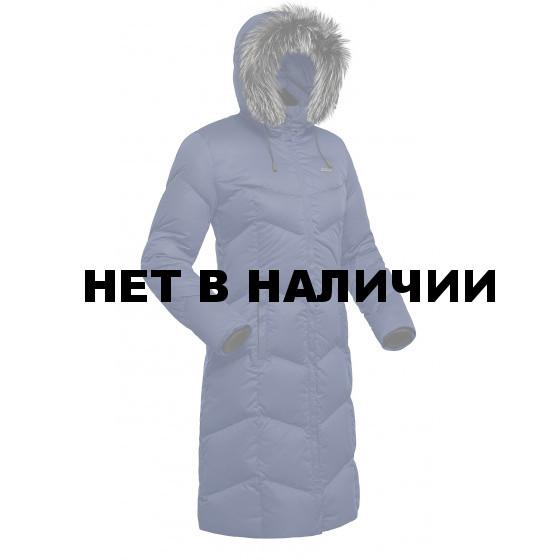 Пальто пуховое женское BASK SNOWFLAKE темно-синее