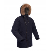 Куртка пуховая мужская BASK MERIDIAN темно-синяя