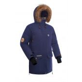 Куртка пуховая BASK IREMEL SOFT синяя тмн