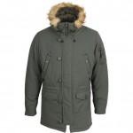 Куртка Fairbanks темно-оливковая