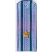 Погоны ПС ФСБ вышитые Майор повседневные на синюю рубашку