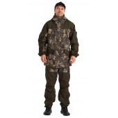 Костюм ГЕРКОН-ЛЕТО куртка/брюки, цвет:, камуфляж Софт/Т.хаки, ткань : Таслан/Кошачий глаз