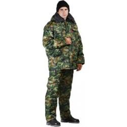 Брюки мужские Охрана зимние, камуфляж нато