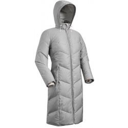 Пальто пуховое женское BASK SNOWFLAKE серое