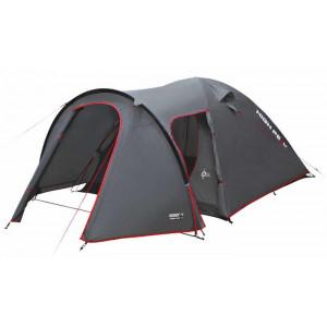 Палатка Kira 3 темно-серый/красный 180х330см, 10214