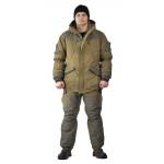 Костюм зимний ГЕРКОН куртка/брюки, цвет: светлый хаки/темный хаки, ткань : Финляндия