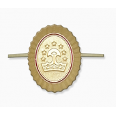 Кокарда Таджикистан орех золотая