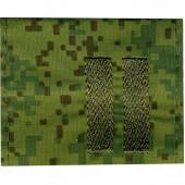 Фальшпогоны без липучки Младший сержант цифровая флора вышивка шёлк