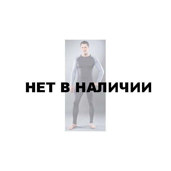 Комплект мужского термобелья Guahoo: рубашка + кальсоны (560 S-GY / 560 P-GY)