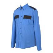 525 сорочка, длинный рукав, с отделкой сорочечная