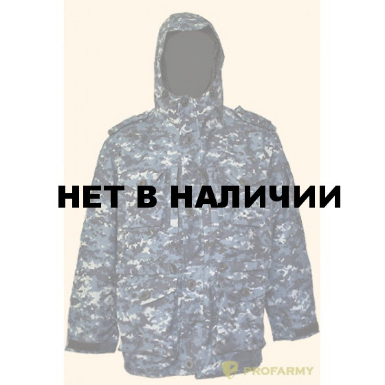 Куртка Смок-3 синяя цифра