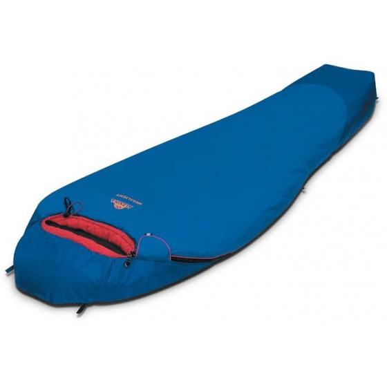 Мешок спальный MEGALIGHT синий, правый