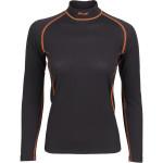 Термобелье женское Energy футболка L/S Thermal Grid light черная