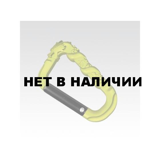 Карабин Дракон чеканный(рельефный) (упак=10 шт), 3285