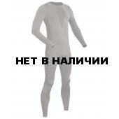 Комплект термобелья BASK EXTRA FIT UNISEX майка с длинным рукавом+брюки серый хаки