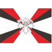 Флаг Служба размещения и расквартирования войск сувенирный