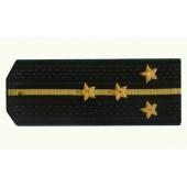 Погоны Береговая охрана ПС ФСБ вышитые Капитан-лейтенант повседневные