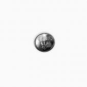Пуговица Спецсвязь серебро диам. 14мм металл