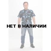 Футболка, камуфляж Кукла синяя (мод.ФК-10)