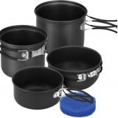 Набор посуды 2 кастрюли, 2 кружки (1-2 персоны)