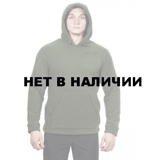 Куртка флисовая с капюшоном МПА-58 цвет т-зеленый
