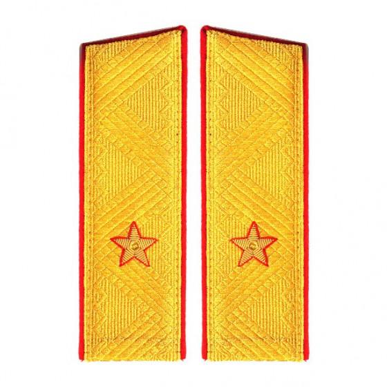 Погоны генерал-майор МО на китель парадные