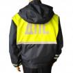 Ветровка ДПС с сигнальн. вставками (мембрана Локер, подкладка 100% п/э,вышитые шевроны, цвет тсиний)