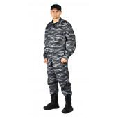 Костюм мужской СПЕЦНАЗ куртка/брюки, цвет:, камуфляж Серый вихрь, ткань : ТВИЛ