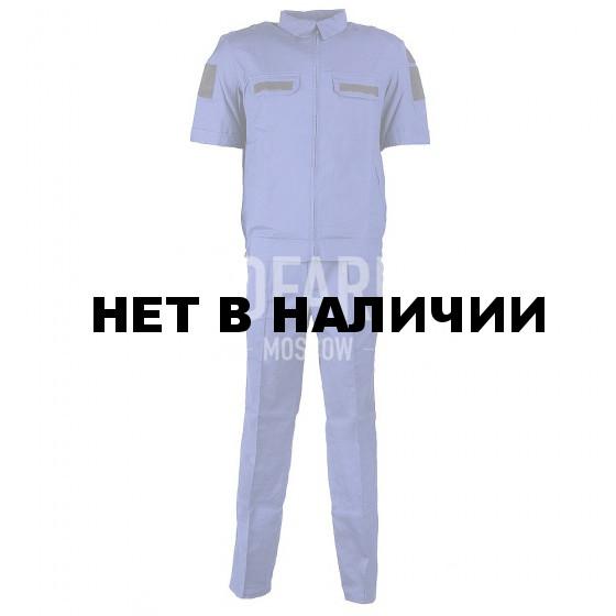 Костюм Штабной короткий рукав(син), панацея рип-стоп