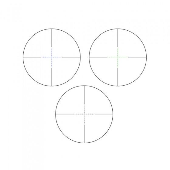 Прицел оптический Veber Wolf 3-9*42 IR
