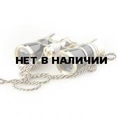 Бинокль театральный Veber Opera БГЦ 3x25 с цепочкой, черный/золотой