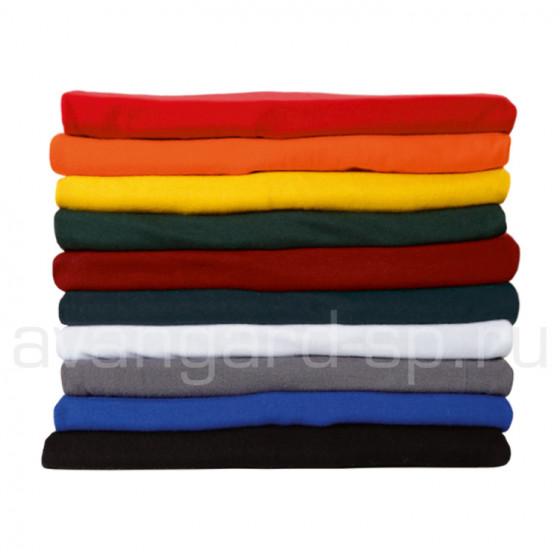 Футболки мужские, короткий рукав, 160гр/м.кв., 100% хлопок (цв.черный)