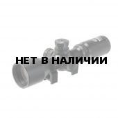 Прицел оптический Veber Black Fox 3-9x42 RG MD с кольцами на Weaver