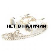 Бинокль театральный Veber Opera БГЦ 3x25 с цепочкой, белый/золотой