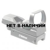 Прицел коллиматорный Veber 1x22x33 RG Weaver