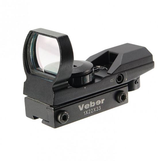 Прицел коллиматорный Veber 1*22*33 RG DVT