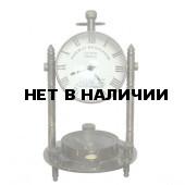 Часы пресс для бумаги с компасом