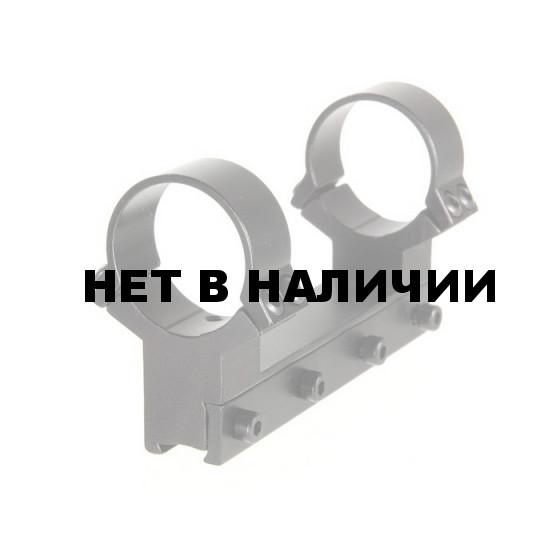 Моноблок для прицела Veber 3011 L на ласточкин хвост