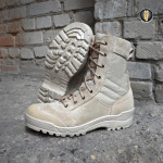 Ботинки с высокими берцами Garsing 0139 П G.R.O.M. ZIP DESERT песок