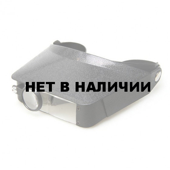 Лупа налобная Veber L-23-1, 1,8x-4,8x, 44x29 мм