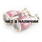 Бинокль театральный Veber Opera БГЦ 4x30 вишня/золотой