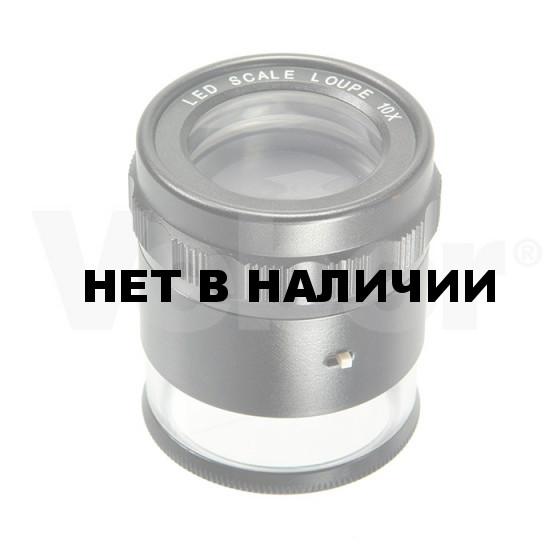 Лупа измерительная с подсветкой Veber MG7173C, 10x, 25 мм