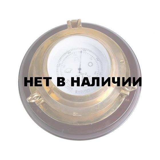 Барометр иллюминатор 5 на деревянной базе