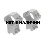 Кольца для прицела Veber 2511AH ласточкин хвост