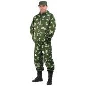 """Костюм мужской """"Турист 1"""" летний, камуфляж, ткань грета """"Граница зеленая"""""""