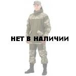 Костюм мужской Горка 3 палатка хаки 100% хлопок / рип-стоп Зеленая цифра
