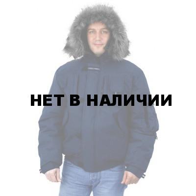 Куртка мужская на поясе Аляска-Премиум темно-синяя