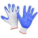 Перчатки нейлоновые антистатические с нитриловым покрытием