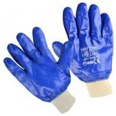 Перчатки нитриловые, манжет, полное покрытие